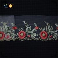 Wholesale Colorful flower embroidered lace trims for women dress from china suppliers