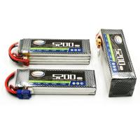 Wholesale 14.8V 4S RC CAR LIPO BATTERY PACK 5200MAH 35C WITH HARD CASE from china suppliers