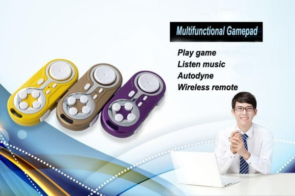 China Portable Bluetooth Gamepad for Android, iOS