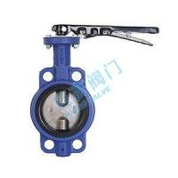 China Half Lining Of Rubber Lining To Clip Butterfly Valve on sale