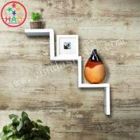 Buy cheap HAO Black,White Mounted Wall Ladder Shelves,Decorative Shelves for Walls,Shelving Wall Shelf from wholesalers