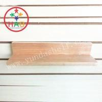 Buy cheap HAO MDF Wood Display Shelves,Decorative Wall Shelf,Room Wall Shelving Units from wholesalers