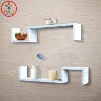 Buy cheap HAO DIY Floating Wall Shelves,Wooden Shelves,Romantic Wall Shelving with Candle from wholesalers