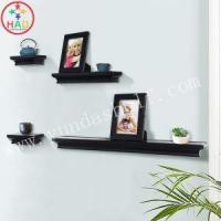 Buy cheap HAO Modern Wall DIY Photo Ledge Shelf for Picture and Photo Frames,White Decorative Display Shelves from wholesalers