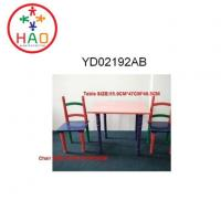 Buy cheap HAO Kids Study Table and 2 Chairs Set,MDF Play Table&Chairs for Childrens from wholesalers