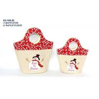 China decorative fabric bag with linen cover felt hand bags for gifts on sale