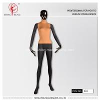 Wholesale Fashion women full-body mannequins with yellow cloths from china suppliers