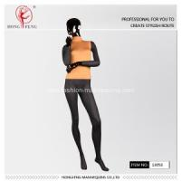 yellow dress stand female mannequins for sale