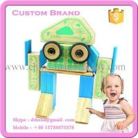 Wholesale 32PCS construction magnetic wooden toys from china suppliers