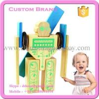 Wholesale 20PCS magnetic wooden blocks construction toys sets from china suppliers