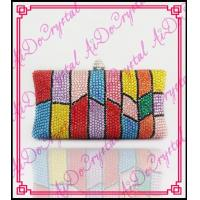 China Aidocrystal Top selling party bag unique desing handmade indian ladies evening bags on sale