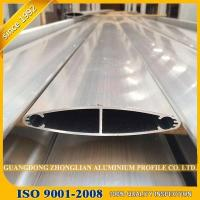 China Drilling Curtain Wall Profile Aluminum Extrusions for Curtain Louver for sale
