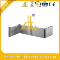 Wall surface edging protection Skirtboard Baseboard Kicking line aluminium profile for sale