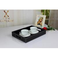 Wholesale Leather tray beverage tray Fruit tray cortex hotel tray manufacturer wholesale prices from china suppliers