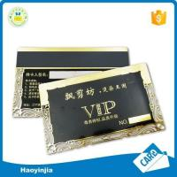 China Fashion Style Hot Stamping Pvc Card With Chip on sale