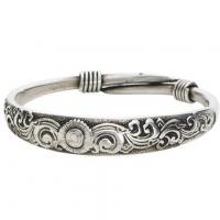 Wholesale SILVERY BANGLES - WAVES from china suppliers