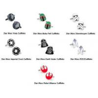 Wholesale STAR WARS CUFFLINKS - DARTH VADER from china suppliers