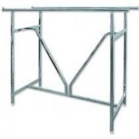Wholesale Custom Double Rail Garment Hanger Stand Portable Clothes Display Racks For Store Fixture from china suppliers