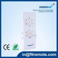 China DC Ceiling Fan Light Kit Remote Control Switch Customized Dimmable And Speed Function Installation on sale