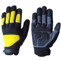 Buy cheap Anti Slip Synthetic Leather Mechanic Safety Gloves from wholesalers
