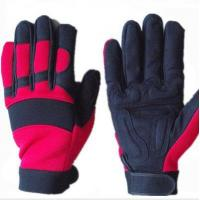 Buy cheap Synthetic Leather Mechanic Safety Gloves from wholesalers