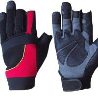 Buy cheap Synthetic Leather Mechanic Gloves from wholesalers