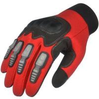 Buy cheap leather work gloves wholesale PU Leather Mechanic Work Gloves from wholesalers
