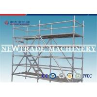 Wholesale Building Construction Ring Lock Scaffolding , Mobile Tower Scaffold from china suppliers