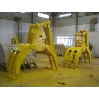 Buy cheap excavator Hydraulic Timber Grab from wholesalers