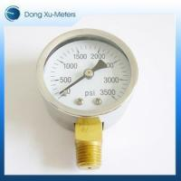 Buy cheap Pressure Gauge Stainless Steel Case Pressure Gauge from wholesalers