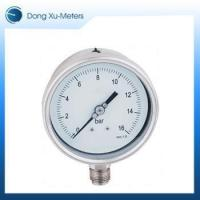 Buy cheap All-Stainless Steel Case Pressure Gauge from wholesalers