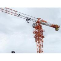 Wholesale 10t QTZ160P(6516) Hydraulic Self-Rising Flat-top Construction Tower Crane from china suppliers