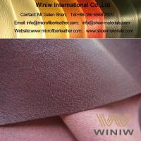 Wholesale Highest Quality PU Faux Pigskin Leather Lining for Shoes from china suppliers