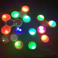 China Hot Sell Ceramic Bearing Fidget Spinner With LED Lights Hand Spinner for sale