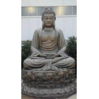 Buy cheap Splendid and Majestic Temple Decor Bronze Large Buddha Statue from wholesalers