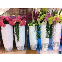Wholesale Large Beautiful Fiberglass Planters Sculptures as Mall Ornament from china suppliers