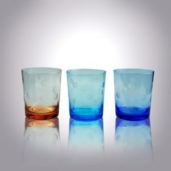China Glass Cup hand-blown Clear Etch Glassware Drinking Sets Suppliers