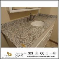 Wholesale Polished Custom Tiger Skin White Granite Vanity Tops with Sink for Small Bathroom Design from china suppliers