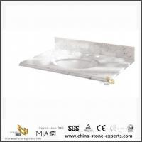 Wholesale Custom Bianco Cararra White Marble Vanity Tops for Bathroom from china suppliers