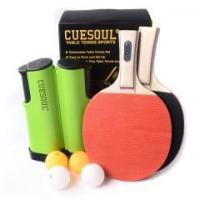 Wholesale CUESOUL Tennis Tennis Set Retractable Anywhere with 2 Paddles and 4 Balls from china suppliers
