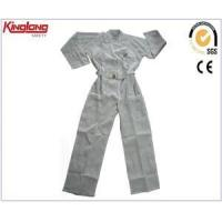 Buy cheap Nice design middle east safety white coverall with pockets from wholesalers