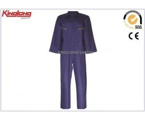 Quality Coverall Uniforms 100%Cotton Proban Flame Retardant Overalls ,Multi Pocket Fire Resistant Coveralls for sale