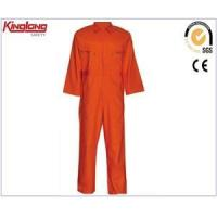 Wholesale Orange Fire Resistant Coveralls,320GSM Proban Flame Overalls Coverall from china suppliers