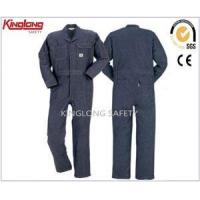 Wholesale Coverall Uniforms 100% Cotton Twill Denim Work Clothes,Safety Mens Workwear Garment from china suppliers