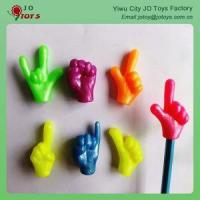 Wholesale Promotion TPR Material Gesture Pencil Topper For Capsule Toy from china suppliers