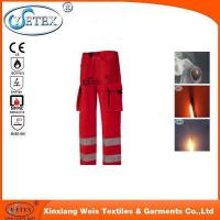 Buy cheap Red high quality mens 100% cotton work pants from wholesalers