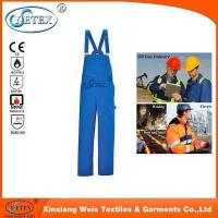 Buy cheap EN 11612 flame retardant work safety overall suit from wholesalers