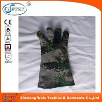 Buy cheap Ysetex 100% cotton fr camouflage gloves from wholesalers