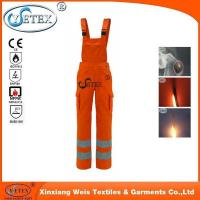 Buy cheap flame retardant bib pants for working men from wholesalers