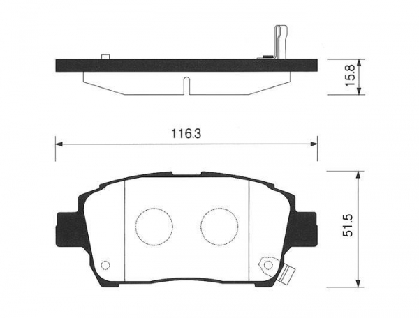 Quality Brake Pad | ESD2015 for sale